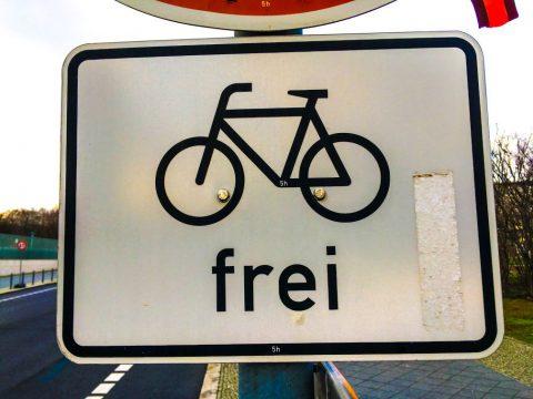 Fahrrad frei
